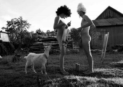 Pas močiutę kaime