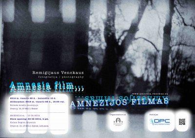 Amnezijos filmas 2013 – 2015